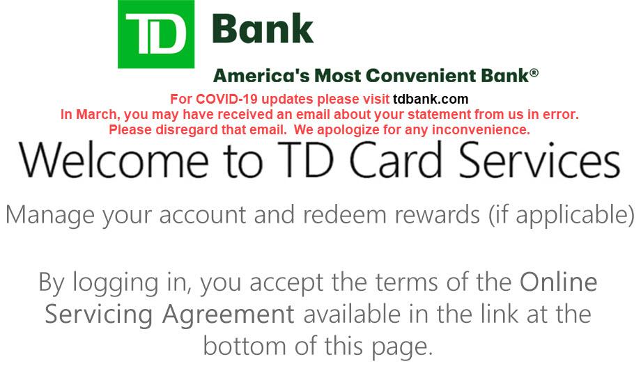 td card services.com